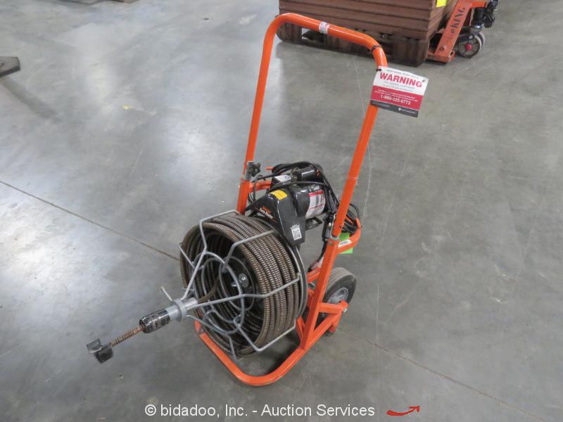 "General Pipe Cleaner Easy Rooter 3/4"" Drain Snake Cleaner 1/3HP 115V 1PH bidadoo"