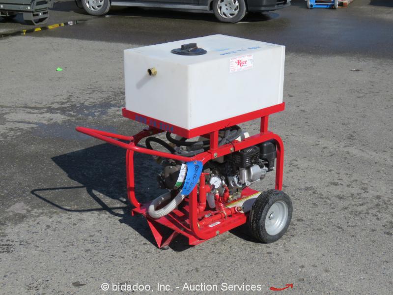 2014 Rice DPH3B Hydro-Static Test Pump 11 GPM Honda GX200 Hydrostatic bidadoo