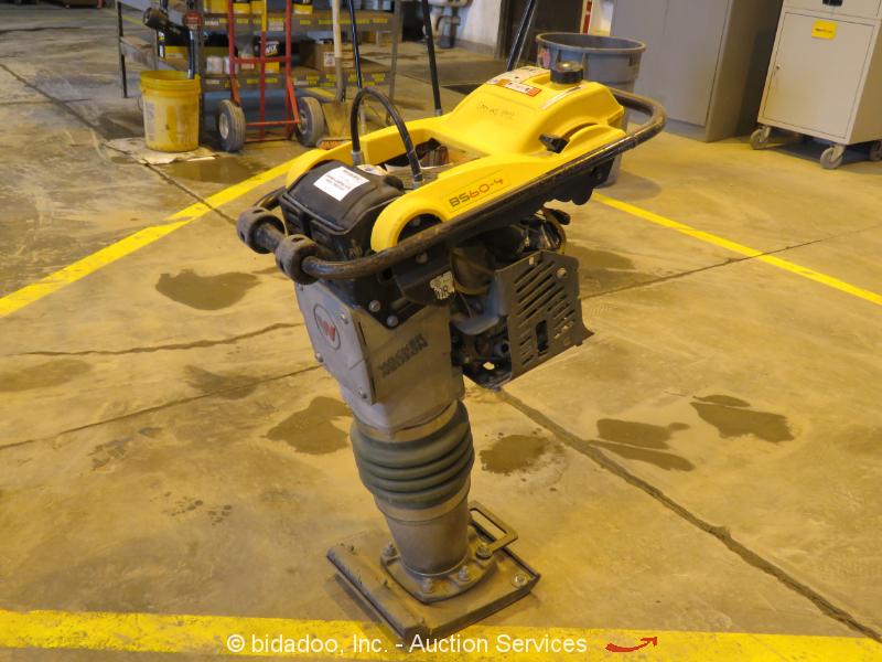 2016 Wacker Neuson BS60-4As Walk-Behind Vibratory Plate Compactor Honda bidadoo