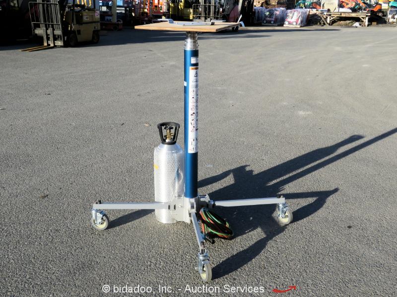 2016 Genie GH-5.6 Super Hoist Compressed Air Material Lift 250 LB Cap bidadoo