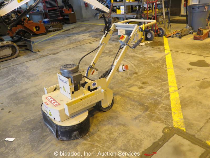 """2016 Edco 2EC-NG-1.5 Walk-Behind Electric Floor Grinder 22"""" Working Width 115V"""