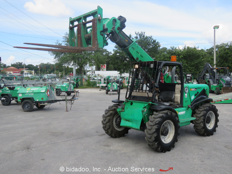 Reach Forklift and Telehandler Results for equipment sold on online