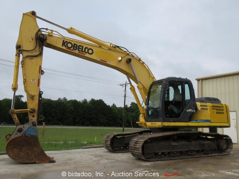 """2012 Kobelco SK210-8 -8 Hydraulic Excavator 48"""" Bucket A/C Cab Aux Hyd bidadoo"""