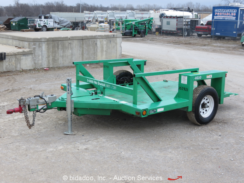Hydraulic Drop Deck Trailers : Jlg triple l s a hydraulic drop deck flatbed