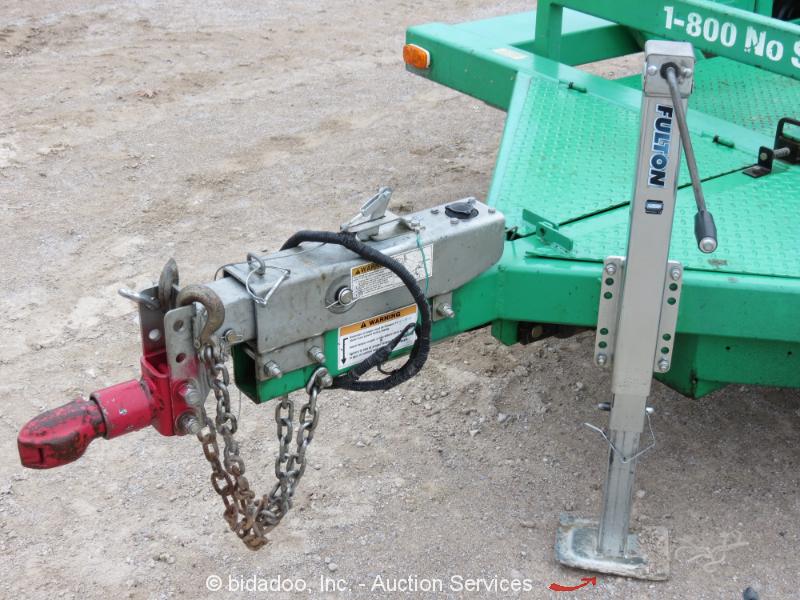 2011 Jlg Triple L 4610 S A 10 Hydraulic Drop Deck Flatbed