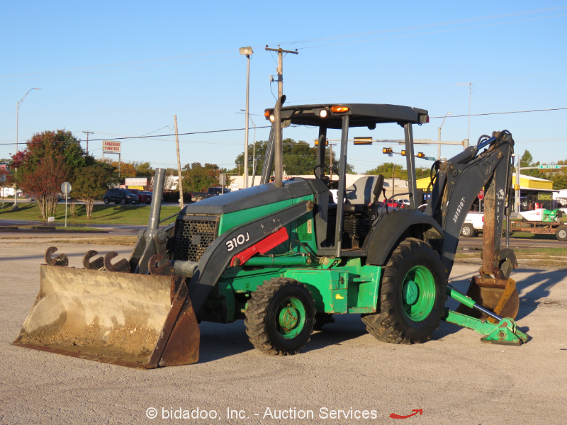 2012 John Deere 310J 4WD Backhoe Wheel Loader Tractor Aux Hyd Diesel bidadoo