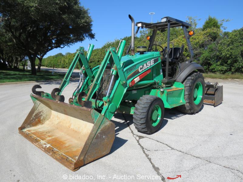 2012 Case 570MXT 4x4 Skip Loader Tractor Box Blade Ripper Diesel Scraper bidadoo