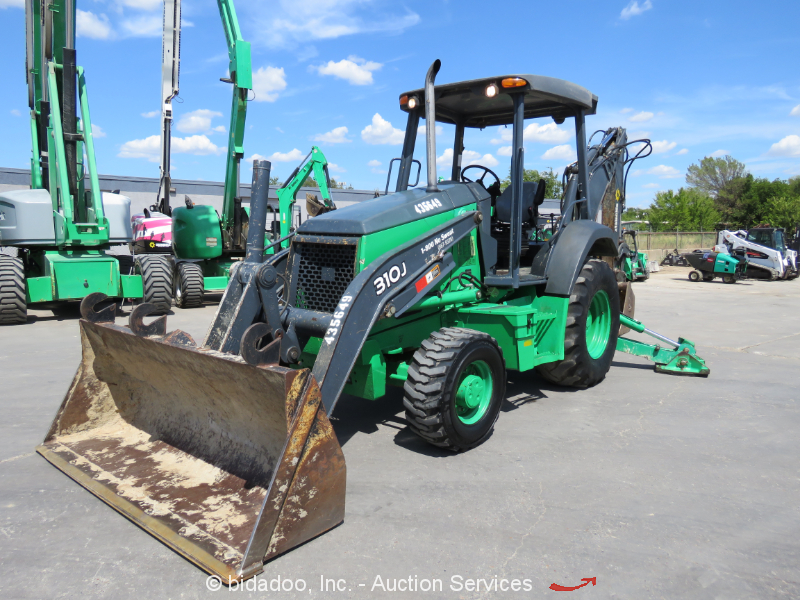 2012 John Deere 310J 4X4 Backhoe Wheel Loader Aux Hyd 4WD Tractor Diesel Repair