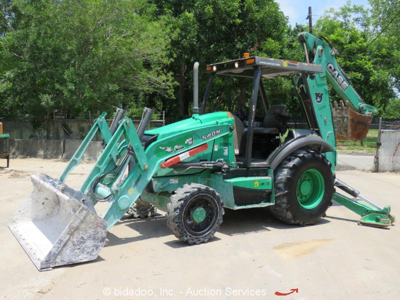 2013 Case 580N 4WD Backhoe Wheel Loader Tractor 4x4 Diesel Aux Hyd -Repair