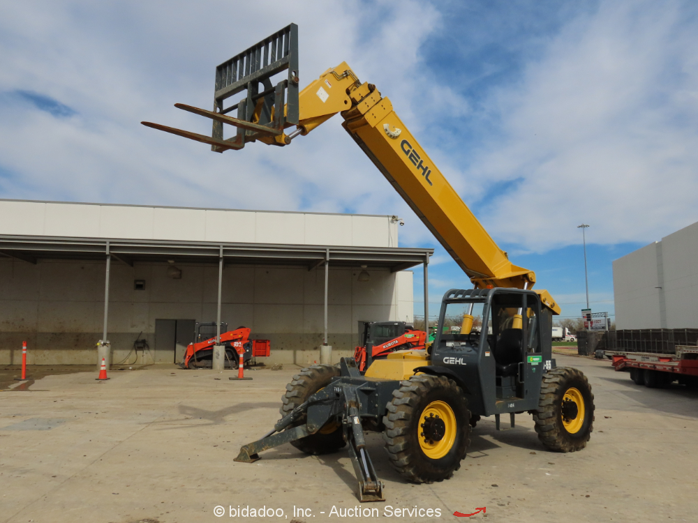 2015 Gehl RS10-55 55' 10,000 LB Telescopic Reach Forklift Telehandler - Repair