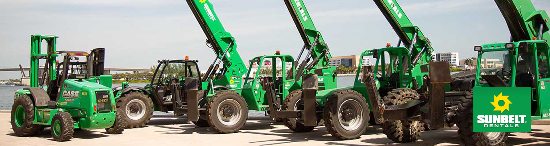 Sunbelt Rentals Equipment For Sale