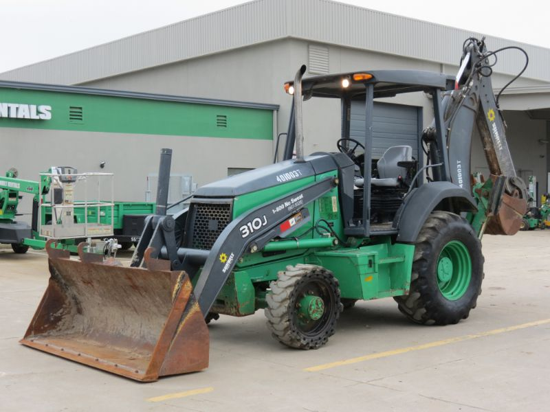 Sunbelt Rentals Deere 310J Backhoe For Sale