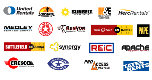 bidadoo helps many rental companies - of all sizes - with their equipment rental requirements.